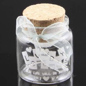 Star Jar, Colourless, 4.7cm x 4.7cm x 5cm, 50ml, 1 piece, [GZP064]